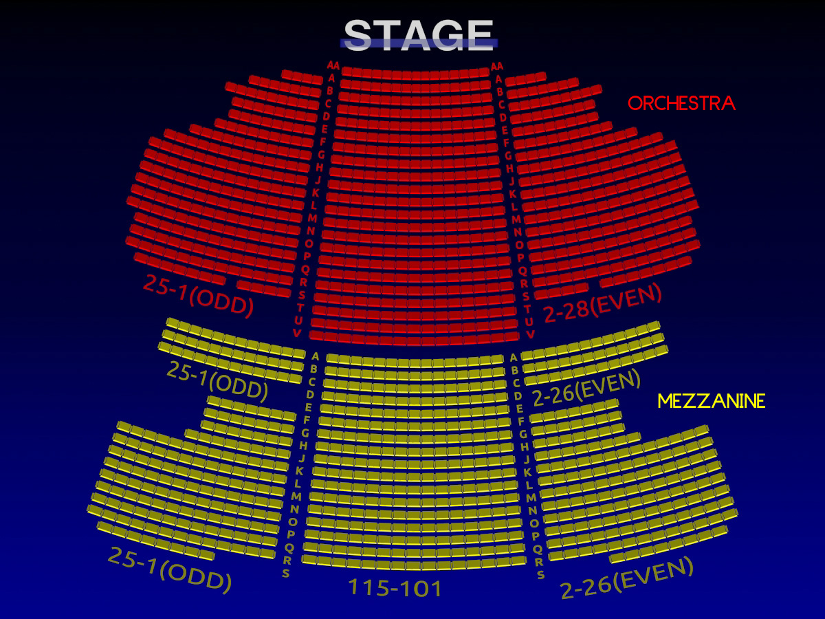 The al hirschfeld theatre all tickets inc for Motor vehicle ny pay tickets