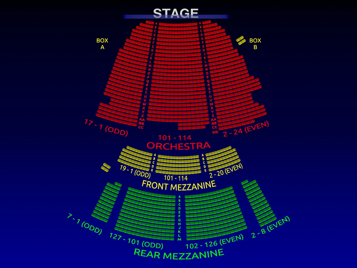 The Lunt Fontanne Theatre All Tickets Inc