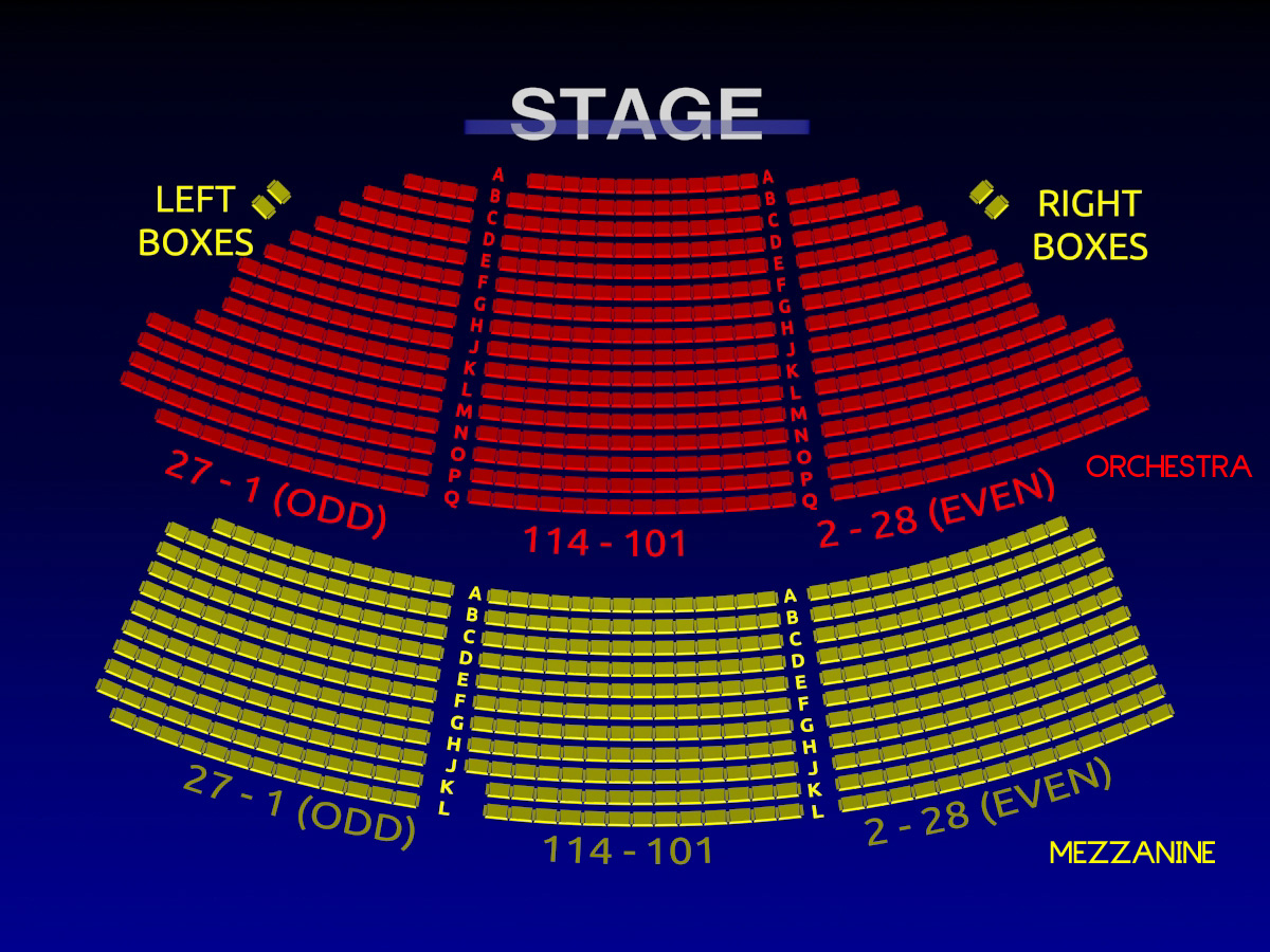 The music box theatre all tickets inc for Motor vehicle ny pay tickets