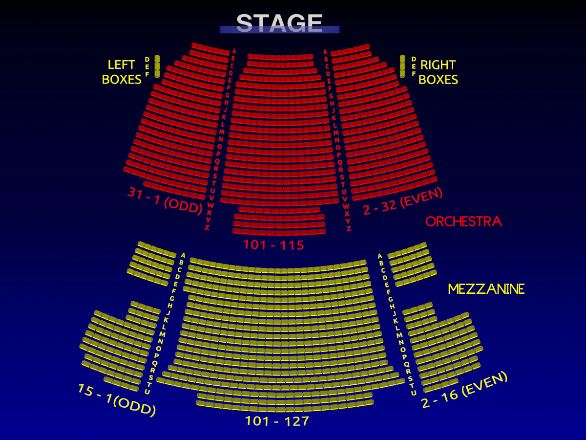The neil simon theatre all tickets inc for Motor vehicle ny pay tickets