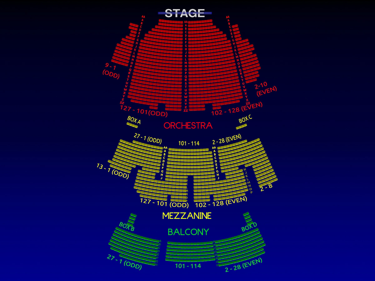 The palace theatre all tickets inc for Motor vehicle ny pay tickets