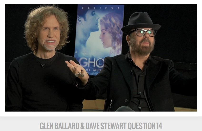 """Dave Stewart, Glen Ballard Ghost The Musical"""