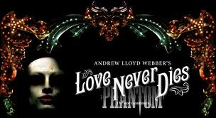 """Love Never Dies group discounts All Tickets Inc"""