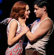 """Laura Osnes in Bonnie and Clyde"""