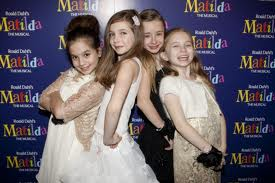 """Girls of Matilda the Musical Olivier winners"""