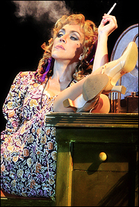 """McArdle as Hannigan in Annie from All Tickets"""