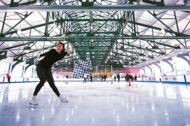 """Chelsea Piers ice skating"""