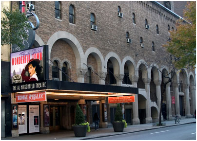 On November 11, 1924, the Al Hirschfeld Theatre opened as the Martin Beck Theatre in honor of the vaudeville advocate.