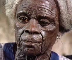 Tyson as the extremely elderly Jane Pittman