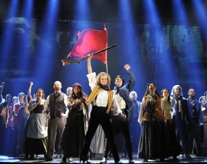 Les MisŽrables by Cameron Mackintosh, opening night November 28