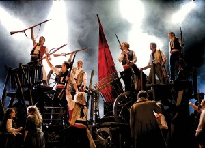 Les Misérables is about freedom, hope and liberty.