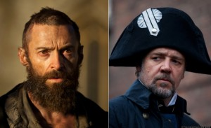 Jean Valjean and Javert.