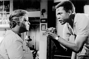 Sidney Poitier starred in the Broadway premiere and in the movie of A Raisnin in the Sun.