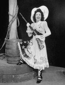 "In Annie Get Your Gun, Ethel Merman sang ""There's No Business Like Show Business."" And she was right."