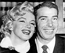 Monroe and DiMaggio