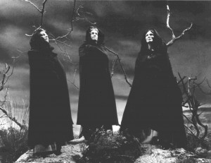 The three witches are spellbinding.