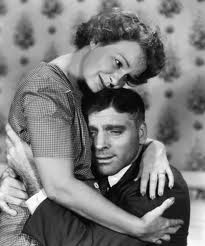 Shirley Booth and Burt Lancaster in the film Come Back, Little Sheba. Booth won the Oscar that year.