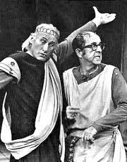 Carl Ballantine and Phil Silvers.