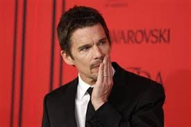Ethan Hawke plays Macbeth on Broadway this season.