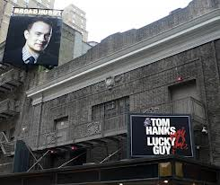 Group sales, discounts Broadway Lucky Guy with Tom Hanks
