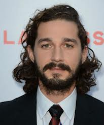 Film actor Shia LaBeouf.
