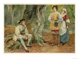 The forest in As You Like It.