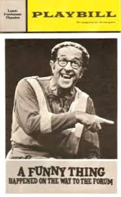 "Phil Silvers in ""A Funny Thing Happened on the Way to the Forum"""
