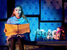 Matilda The Musical is a big hit in London and in New York.