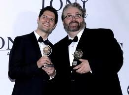 Yorkey, right, with fellow-creator of Next to Normal, Kitt.