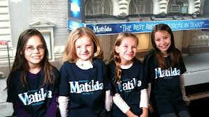 Group discounts for Broadway musical Matilda.
