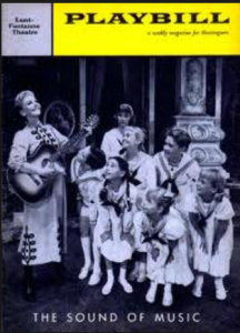 Mary Martin and the kids in The Sound of Music.