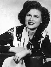 Patsy Cline playing the country-western look.