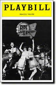 Original Playbill for Pump Boys and Dinettes.