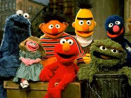 It's the Sesame Street gang!