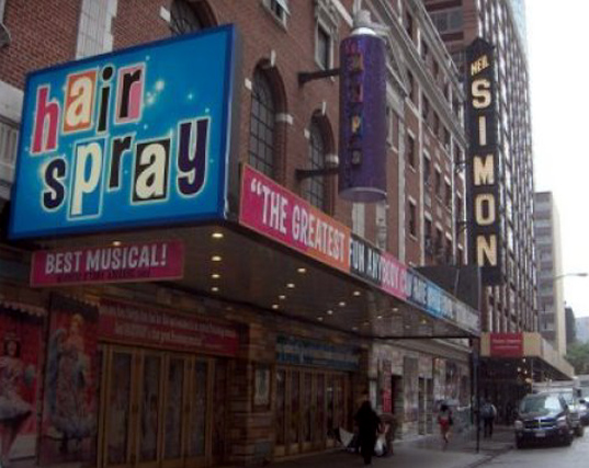 The Neil Simon has housed the hit musical Hairspray.