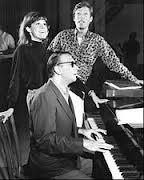 Breakfast at Tiffany's stars Mary Tyler Moore and Richard Chamberlain with Bob Merrill.