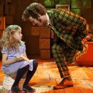 Musical Matilda Positive Message for Girls