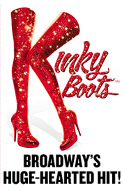 KINKY BOOTS All Tickets Inc Logo NEW