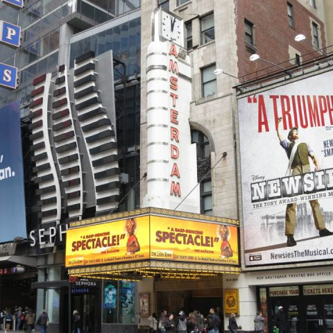 The new amsterdam theatre all tickets inc for Motor vehicle ny pay tickets