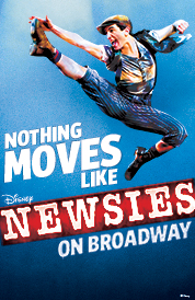 Newsies on Broadway group sales tickets