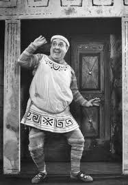 Mostel in A Funny Thing...