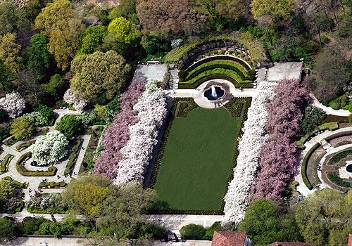 Cloisters Central Park Ny Botanical Garden Group