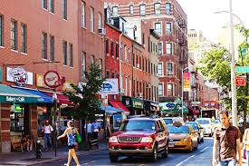 Greenwich Village is a rich artistic and cultural area.