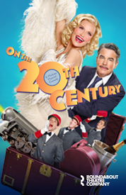 On the Twentieth Century stars Chenoweth and Gallagher.