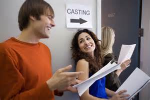 Auditioning is a major part of the business for actors.