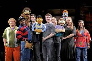 Avenue Q is NOT for kids, but it's still going strong Off-Broadway.
