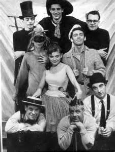 The original cast of The Fantasticks.