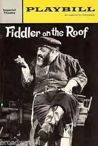 Fiddler ran for over 3,000 performances.