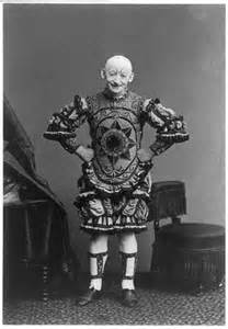 George L. Fox performed in Pantomime. His most famous role was Humpty Dumpty.