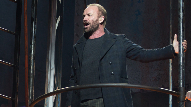Sting Sings and Acts in The Last Ship: Extends His Run